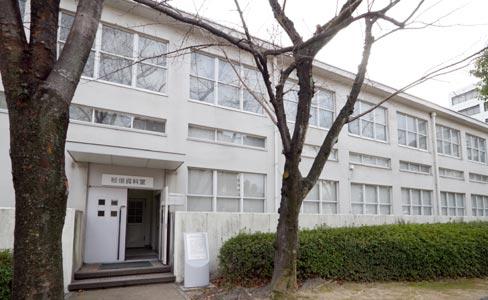 広島逓信病院旧外来棟(被爆建物)