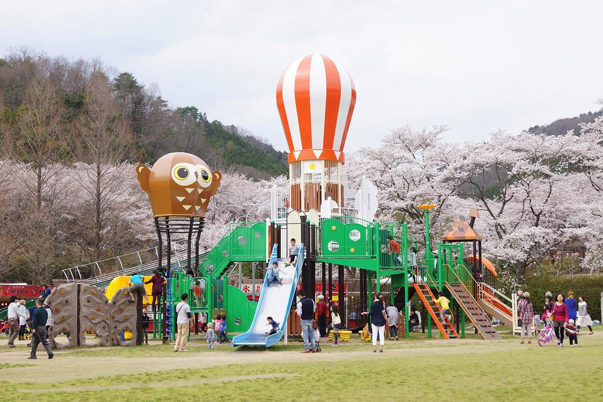 のどごえ公園 (土師ダム)