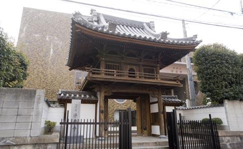 浄光寺・山門(被爆建物)