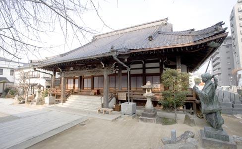 安楽寺・本堂(被爆建物)