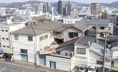 歴清社倉庫(被爆建物)
