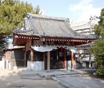 舟入神社(被爆建物)