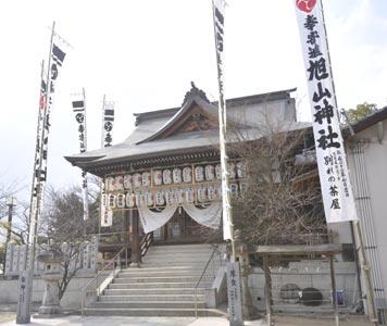 旭山神社(被爆建物)