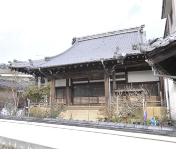 光西寺・本堂(被爆建物)