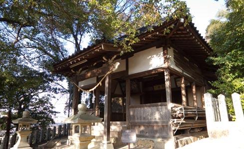 真幡神社(黄幡社)(被爆建物)