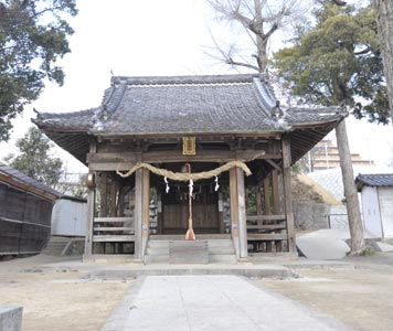 大歳神社・本殿・拝殿(被爆建物)