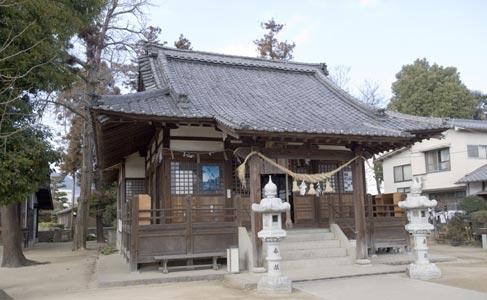 長束神社・本殿(被爆建物)