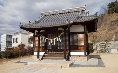 穴神社(被爆建物)