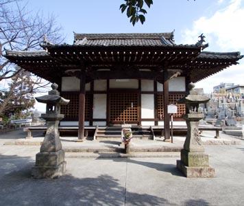 観音寺・本堂・鐘楼(被爆建物)
