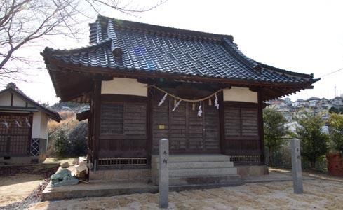 竈神社(かまどじんじゃ)(被爆建物)