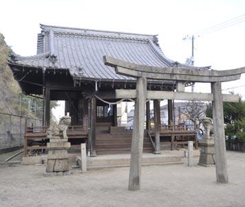 鷺森神社(被爆建物)