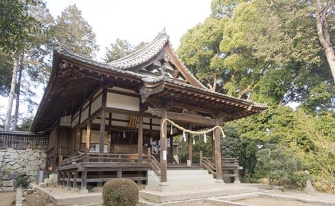 狐瓜木神社・本殿・拝殿(被爆建物)