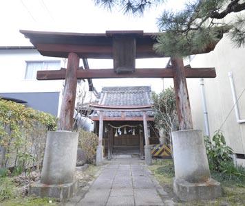 稲生神社(被爆建物)