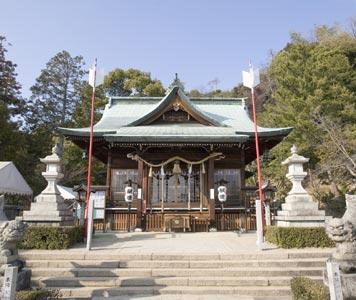 草津八幡宮・本殿・拝殿(被爆建物)