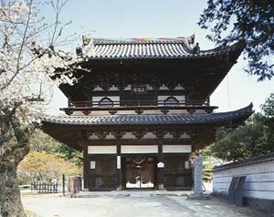 不動院楼門(ふどういんろうもん)(重要文化財)