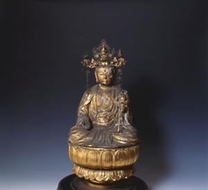 木造菩薩坐像(もくぞうぼさつざぞう)(市指定重要有形文化財)