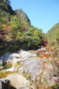 石ケ谷峡(いしがたにきょう)(名勝)