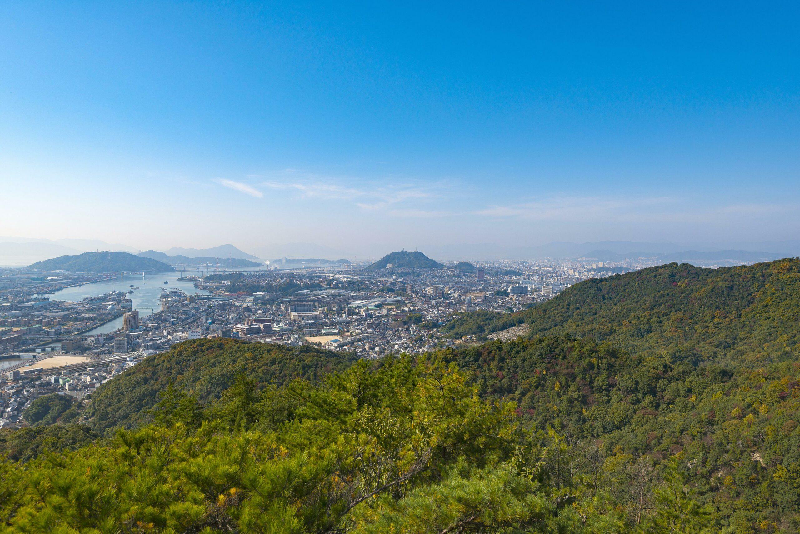 日浦山トレッキング(海田町)