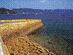 広島湾に浮かぶ小島で平和学習と海水プールカヌー体験(広島市)