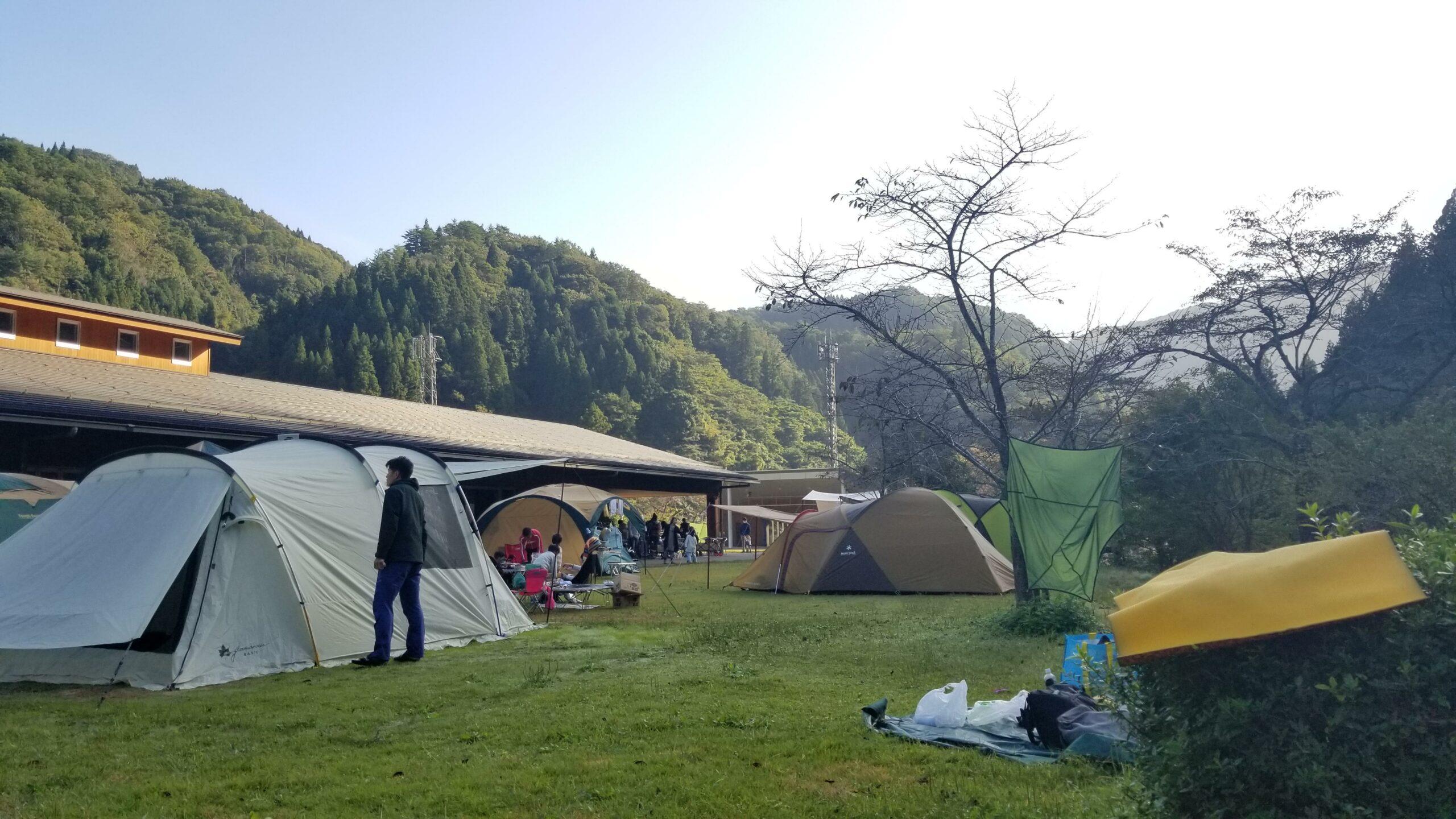 湯来リバーサイドキャンプ(広島市湯来町)