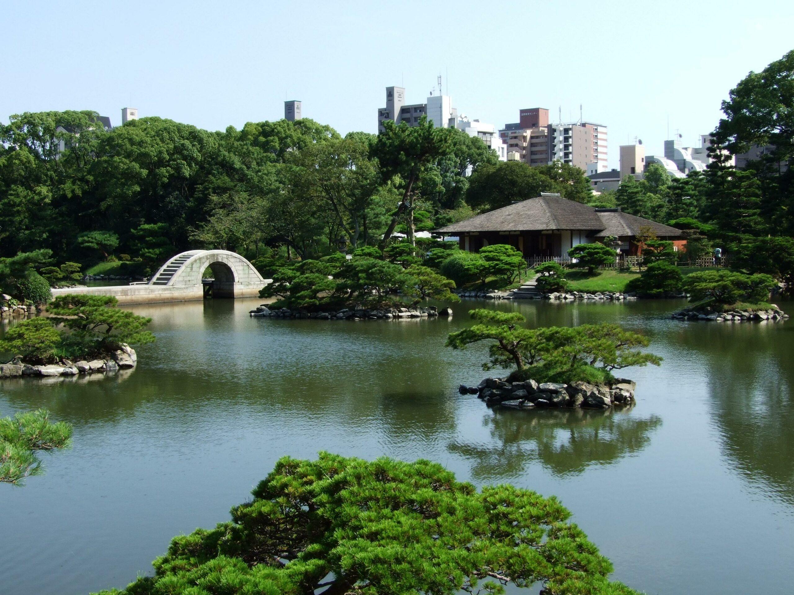 旧西国街道と名勝縮景園をめぐる(広島市)
