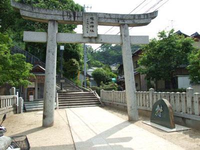 ズッコケ三人組のモニュメント(旭山神社)