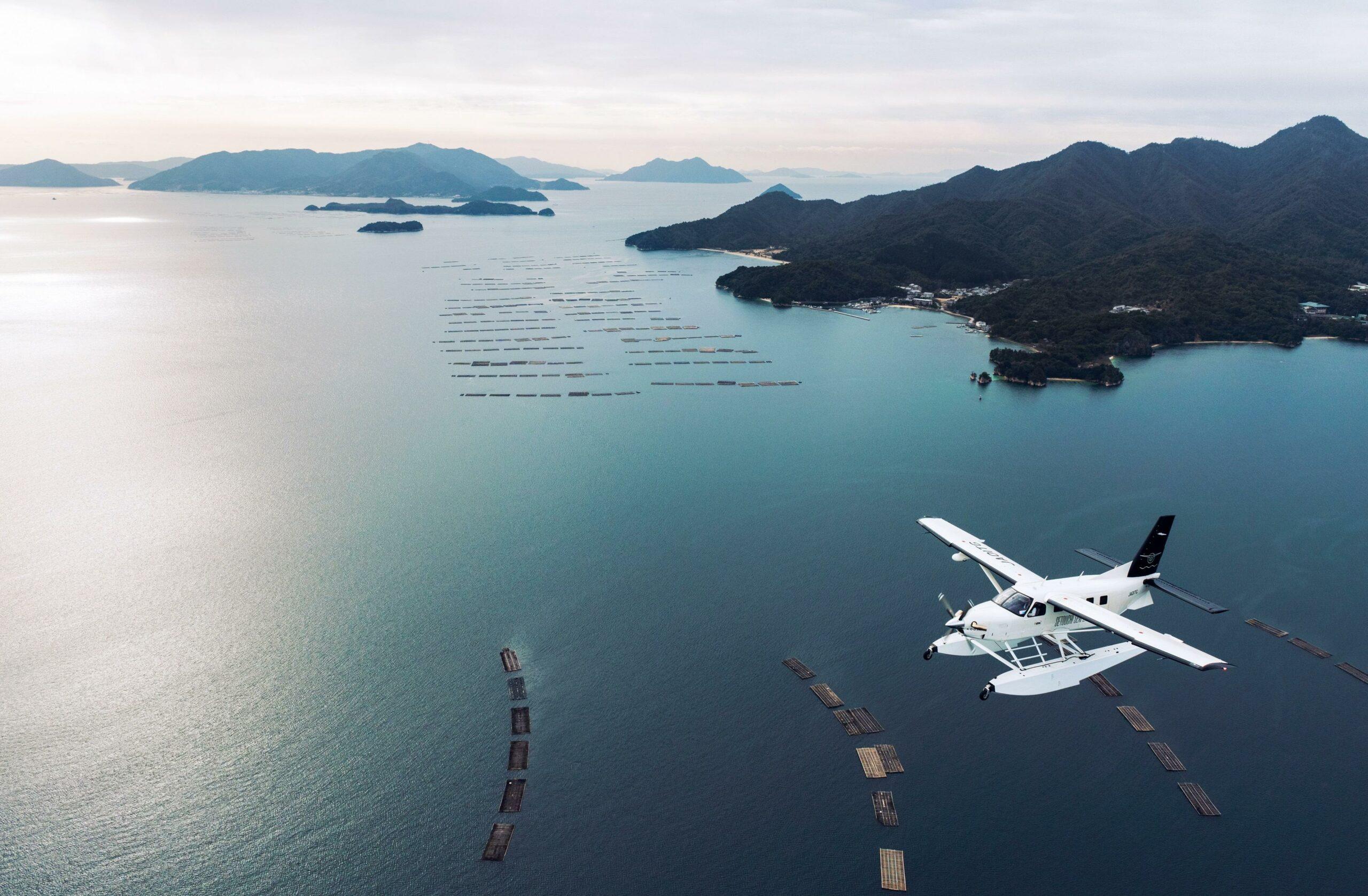 水面から空へ。絶景の空中散歩 広島エアポートフライト(広島空港発着 しまなみ&離着水体験コース)