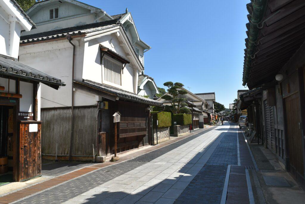 竹原市重要伝統的建造物群保存地区(通称:たけはら町並み保存地区)