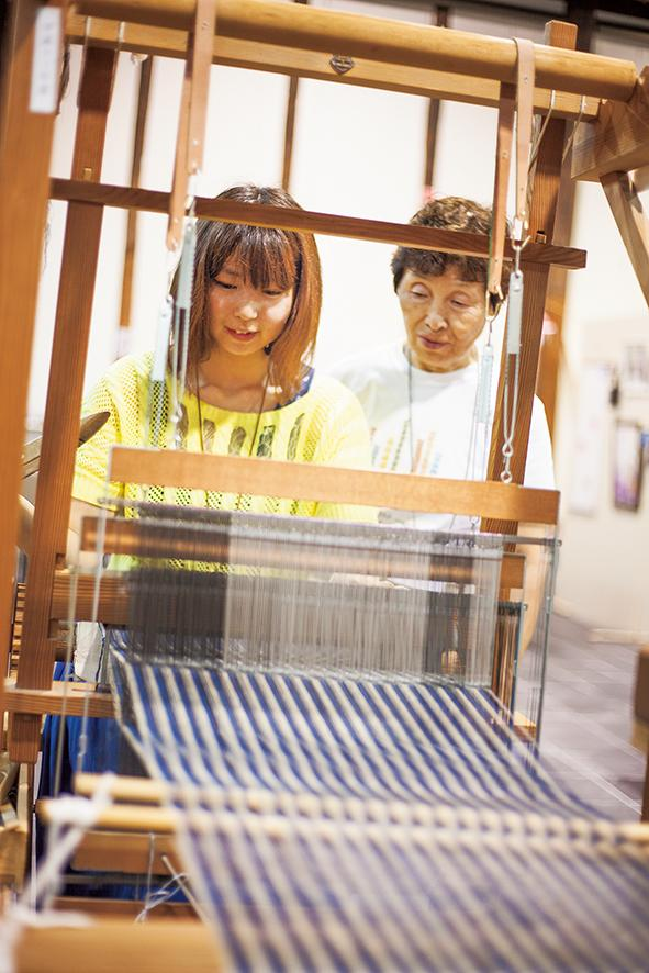 柳井縞機織体験(柳井市)
