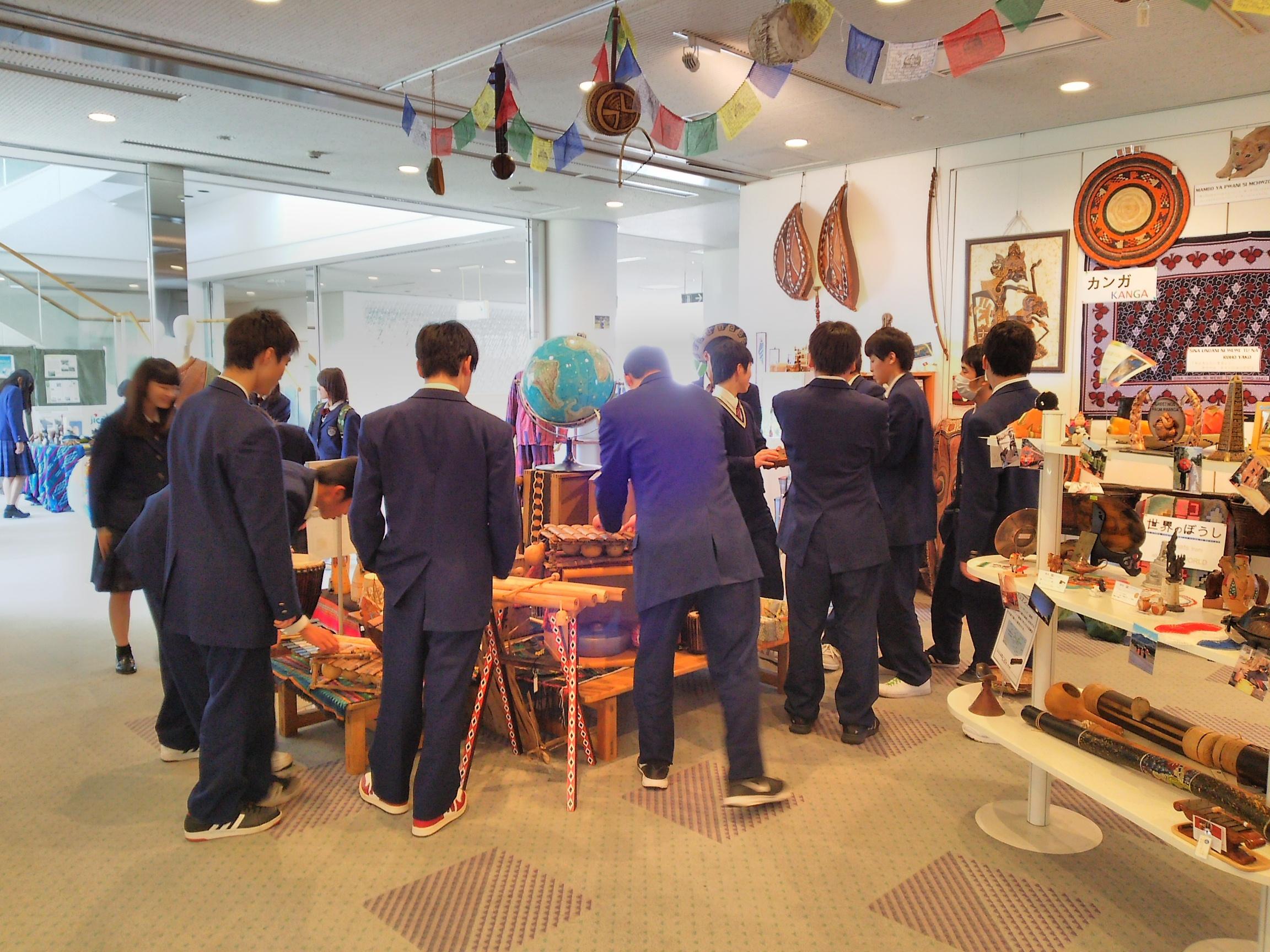 JICA中国施設訪問「国際理解教室」(東広島市)