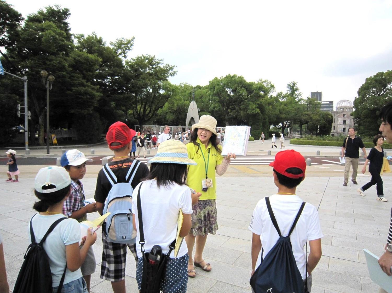 広島平和記念資料館・平和記念公園の解説(広島市)
