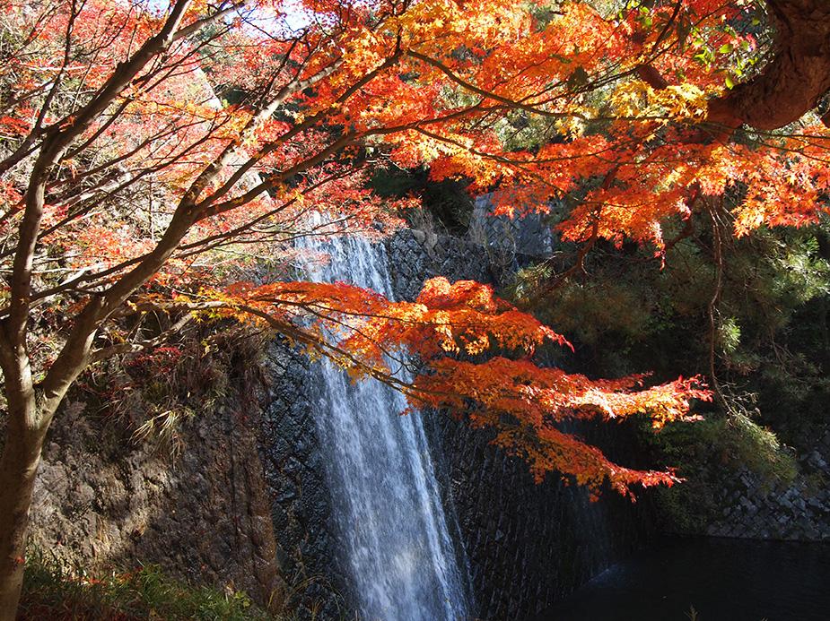 水分峡 紅葉